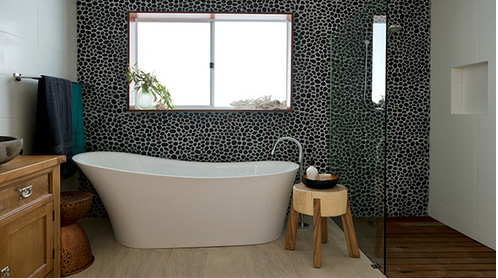 pebble-wall, Kitchen Renovation, Bathroom Renovation, House Renovation Auckland
