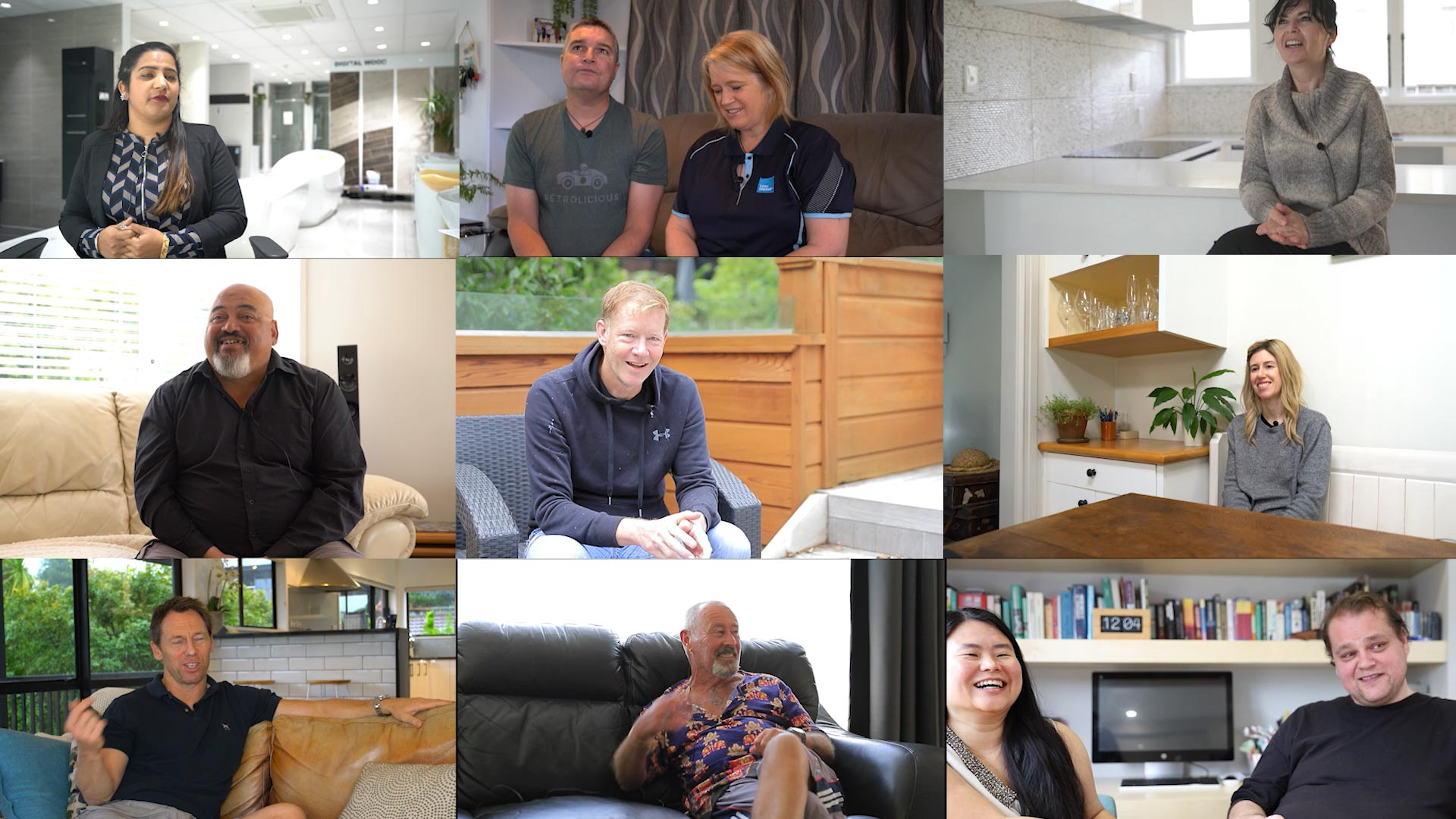 video-testimonial-collage, Kitchen Renovation, Bathroom Renovation, House Renovation Auckland