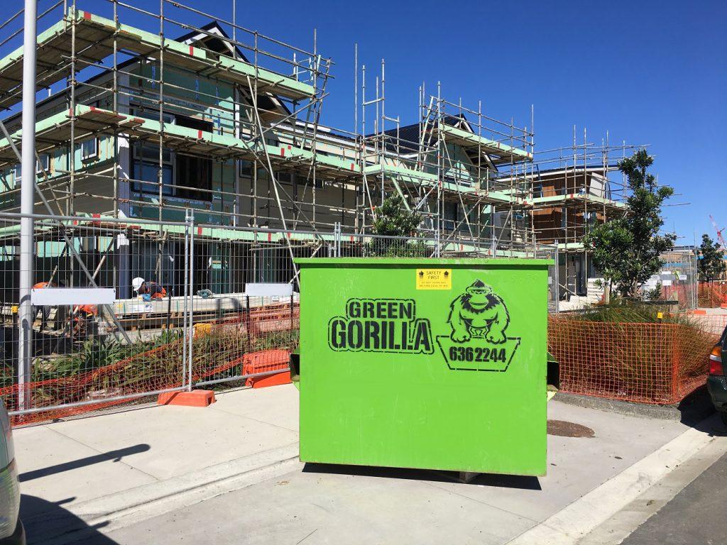 Green-Gorilla-Bin-on-building-site-1-1-1024x768, Kitchen Renovation, Bathroom Renovation, House Renovation Auckland