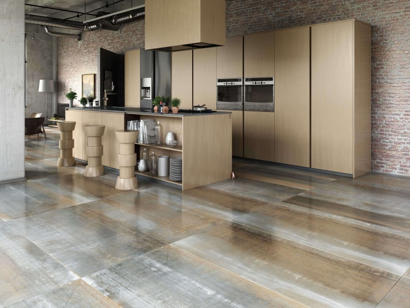 Metallic-Rock-Bronze-Lappato-Metal-tiles, Kitchen Renovation, Bathroom Renovation, House Renovation Auckland