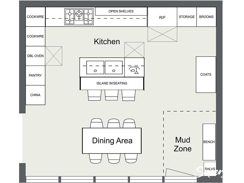 RoomSketcher-Kitchen-Layout-Ideas-Floor-Plan-Island-Appliance-Layout-2, Kitchen Renovation, Bathroom Renovation, House Renovation Auckland