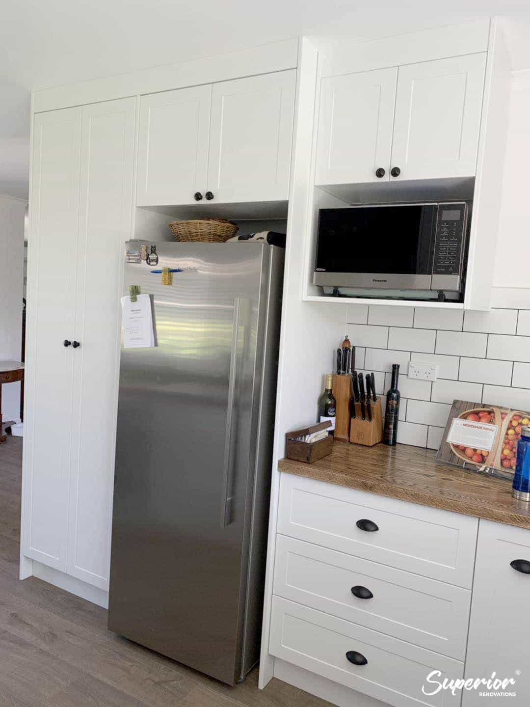 Kitchen-Fridge, Kitchen Renovation, Bathroom Renovation, House Renovation Auckland
