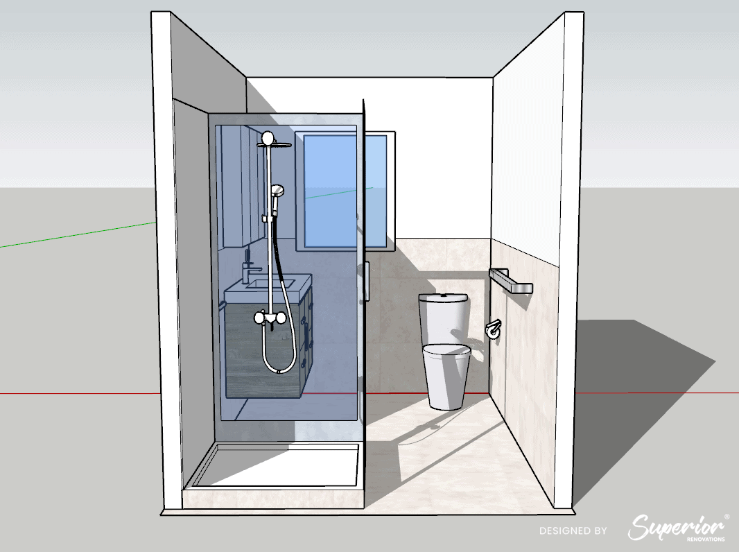 Small-Bathroom-Design-Superior-Renovations-15, Kitchen Renovation, Bathroom Renovation, House Renovation Auckland